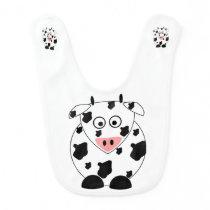 Cow Baby Bib