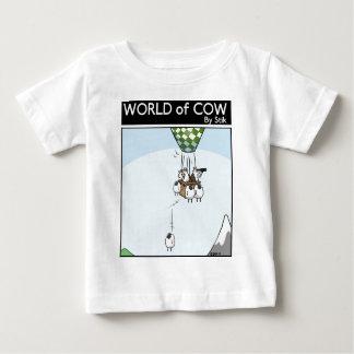 Cow Ballooning T Shirts