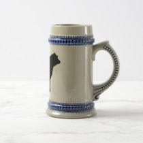 cow beer stein