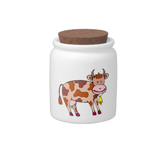 Cow Bell Candy Jars