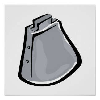 Cow bell poster