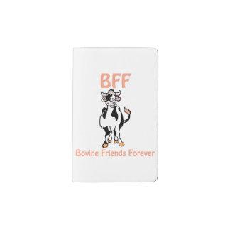 Cow BFF Pocket Moleskine Notebook