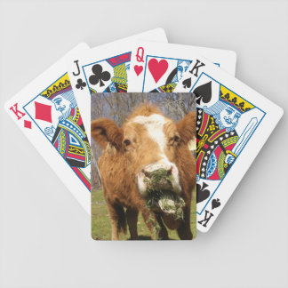 Cow Bicycle® Playing Cards