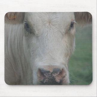 Cow Big Head Mouse Pad
