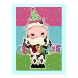 Cow Birthday Cards and Postage