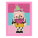 Cow Birthday Cards and Postage Postcards