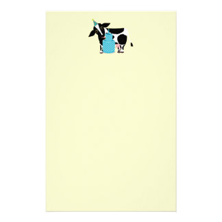 Cow Birthday Party Funny Stationery