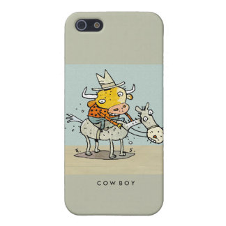 Cow-Boy iPhone G4 cover iPhone 5 Cover