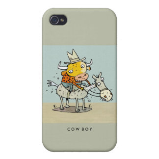 Cow-Boy iPhone G4 cover iPhone 4/4S Case