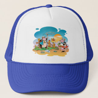 Cow-boys and Cow-girls Trucker Hat