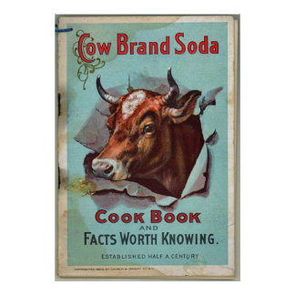 Cow Brand Soda Poster