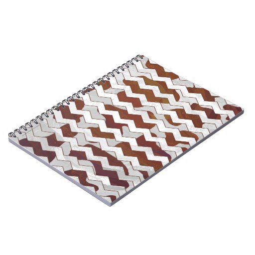 Cow Brown and White Print Note Books