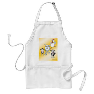 Cow, Bull, Sheep and Chicken BBQ Apron. Adult Apron