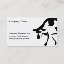 Cow, Business Card