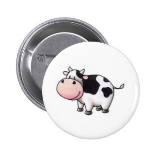 Cow Pinback Buttons