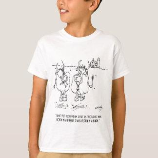 Cow Cartoon 3348 T-Shirt
