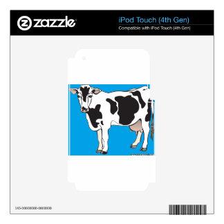 cow cartoon vectors--b iPod touch 4G skins