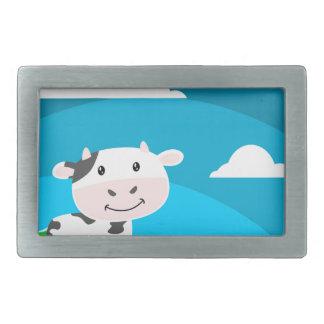 Cow Character Belt Buckle