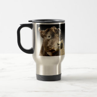 Cow_Chewing_Hay,_Travel_Commuter_Coffee_Mug Travel Mug