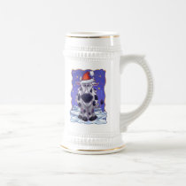 Cow Christmas Beer Stein