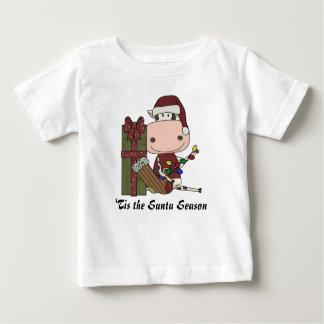 Cow Christmas Decorations Tshirts