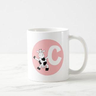 cow classic white coffee mug