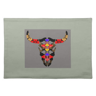 cow cloth placemat