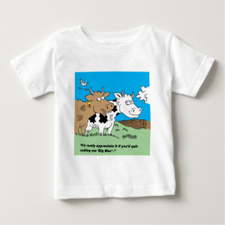 Cow Complains About Being A McDonald's Big Mac Baby T-Shirt
