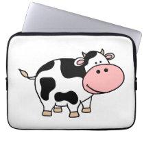 Cow Computer Sleeve