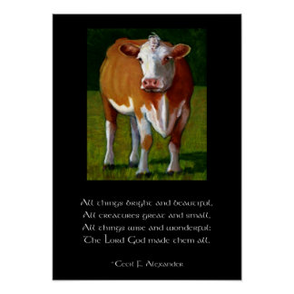 COW CREATURES POSTER
