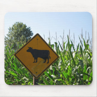 Cow Crossing Mouse Pad
