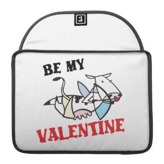 Cow Cupid Valentine MacBook Pro Sleeves