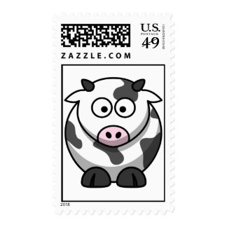 Cow - Cute! Postage Stamp