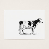 Cow Design Business Card