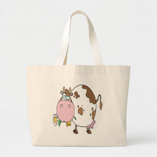Cow Different Color White Bags