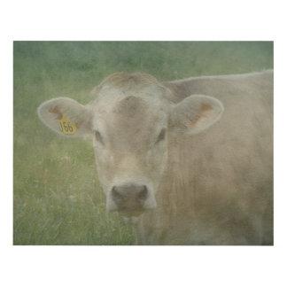 Cow Dreamin' Panel Wall Art