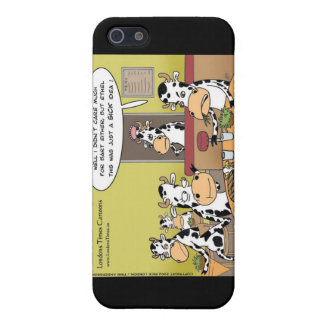 Cow Eats Husband Funny Gifts Mugs & Cards Cover For iPhone SE/5/5s