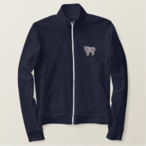 Cow Embroidered Jacket