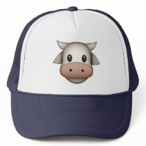 Cow - Emoji Trucker Hat