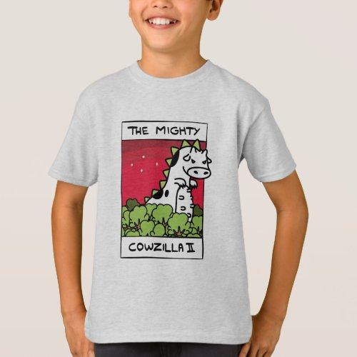 Cow Evolution Cowzilla Apparel T_Shirt