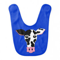 Cow Face Baby Bib