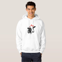 Cow Face Bow farmers wife Hoodie