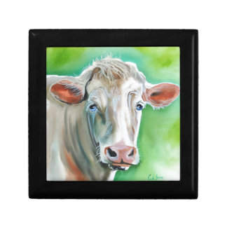 Cow face jewelry box