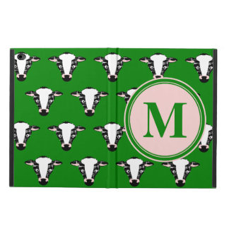 Cow Face Pattern with Customisable Monogram Powis iPad Air 2 Case