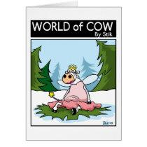 Cow Fairy Card