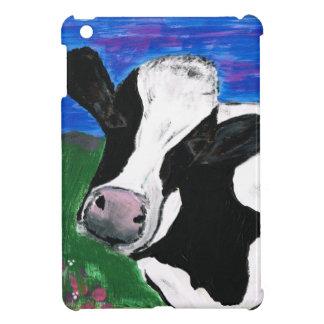 Cow, Farm, Animal, rural, hand painted calf. iPad Mini Case