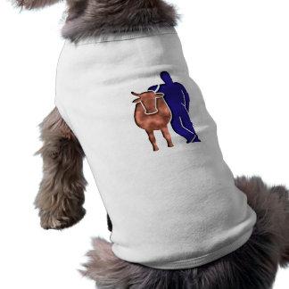 Cow farmer cow far MER T-Shirt