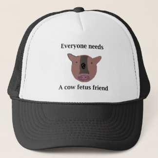 Cow Fetus Collector - Realistic colors Trucker Hat