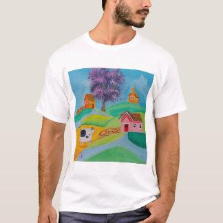 cow folk art T-Shirt