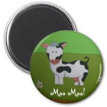 Cow Fridge magnet
